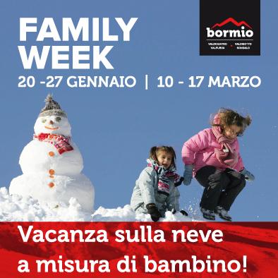 Family week Bormio - settimana bianca con i bambini